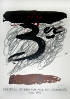 Antoni Tàpies: Festival Cadaquès, 1972