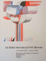 David Hockney: 1st British International Print Biennale, 1968