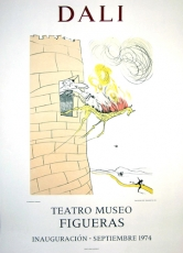 Salvador Dali: Grand Inquisitor, Teatro Museo Figueras, 1974