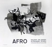 Afro: Galerie Im Erker, 1965
