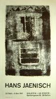 Hans Jaenisch: Galerie im Erker, 1961