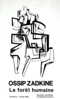 Ossip Zadkine: Galerie im Erker, 1966