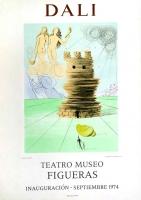 Salvador Dali: Simeon, Teatro Museo Figueras, 1974