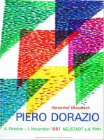 Piero Dorazio: Kunst in Südwest 3, 1987