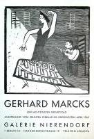 Gerhard Marks: Galerie Nierendorf, 1969