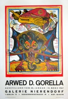 Arwed Gorella: Galerie Nierendorf, 1967