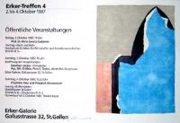 Giuseppe Santomaso: Erker Galerie, 1987