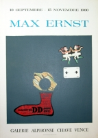 Max Ernst: Galerie Chave, 1966