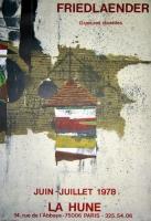 Johnny Friedlaender: Galerie La Hunne, 1978