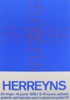 Gilbert Herreyns: Galerie Van der Voort, 1973