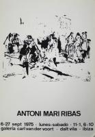 Antoni Maria Ribas: Galerie Van der Voort, 1975