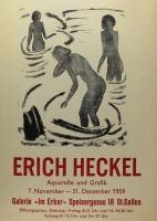 Erich Heckel, Galerie im Erker, 1959