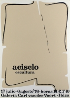 Acrisclo Manzano: Galerie Van der Voort, 1976