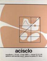 Acrisclo Manzano: Galerie Van der Voort, 1973