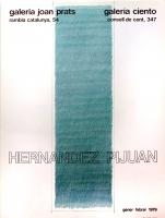 Hernández Pijuán: Galerie Joan  Prats, 1979