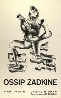 Ossip Zadkine: Galerie im Erker, 1961