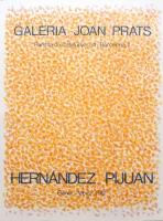 Hernández Pijuán: Galerie Joan  Prats, 1981