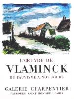 Maurice Vlaminck: Galerie Carpentier, 1956