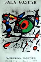 Joan Miró: Galerie Sala Gaspar, 1972