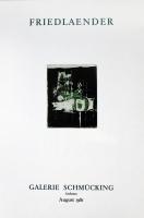 Johnny Friedlaender: Galerie Schmücking, 1981