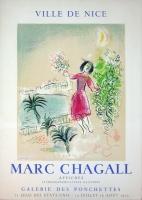 Marc Chagall: Ville de Nice, 1970