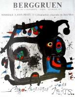 Joan Miró: Galerie Berggruen, 1972
