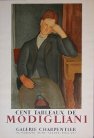 Amedo Modiglian: Galerie Charpentier, 1958