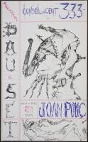 Joan Ponc: Galeria Dau al Set, 1974