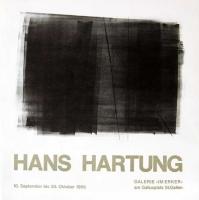Hans Hartung: Galerie im Erker, 1966