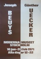 Beuys/ Uecker: Moderna Museet, 1971