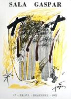 Antoni Tàpies: Sala Gaspar, 1971