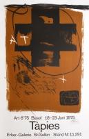 Antoni Tàpies: Art Basel, 1975