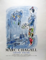 Marc Chagall: Grand Palais, 1969 (variant)