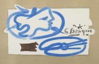 Georges Braque: Galerie Maeght 1950 (avant la lettre)