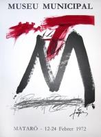 Antoni Tàpies: Museu Municipal, 1972