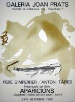 Antoni Tàpies: Galerie Joan Prats, 1982