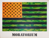 Jasper Johns: Moratorium, 1969