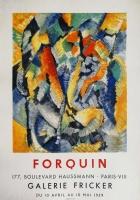 Jean-Claude Forquin: Galerie Fricker, 1959