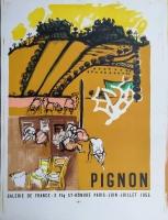 Edouard Pignon: Galerie de France, 1955