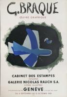 Georges Braque: Cabinet des Estampes - Galerie Rauch, 1958