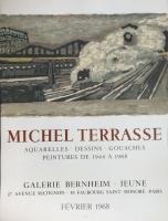 Michel Terrasse: Galerie Bernheim -Jeune, 1968