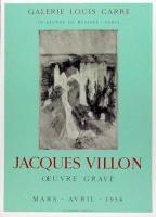 Jacques Villon: Galerie Lois Carré, 1954