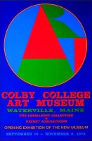 Robert Indiana: Colby College, 1973