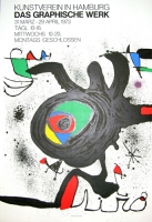 Joan Miró: Kunstverein Hamburg, 1973