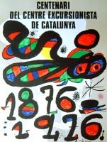 Joan Miró: Centenari del Centre Excursionista de Catalunya, 1976