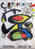 Joan Miró: Carcassonne, 1980