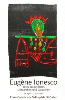 Eugène Ionesco: Erker Galerie, 1984