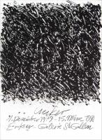 Günther Uecker: Erker Galerie, 1979