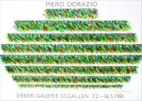 Piero Dorazio: Erker Galerie (2), 1981