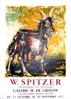 Walter Spitzer: Galerie de Groote, 1957